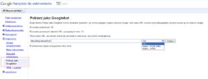 Jak zgłosić stronę do Google za pomocą Narzędzi dla Webmasterów