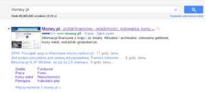 Stare linki witryny w Google
