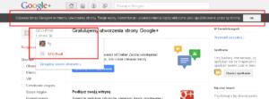 Profil biznesowy w Google+