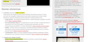 Wygasły Certyfikat Adwords?