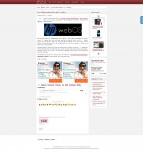 Przykłąd witryny dotkniętej Pandą - strona podstrona