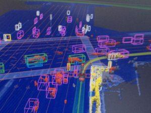Jak samojezdny samochód Google widzi okolicę