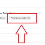 Jak pobrać linki prowadzące do naszej strony z Narzędzi Google