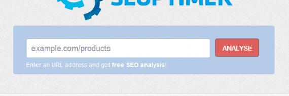 Seoptimer - narzedzie do darmowego audytu SEO online