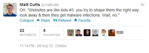 Strony są jak dzieci by Matt Cutts - 3