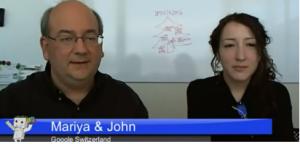 John Mueller i Mariya Moeva