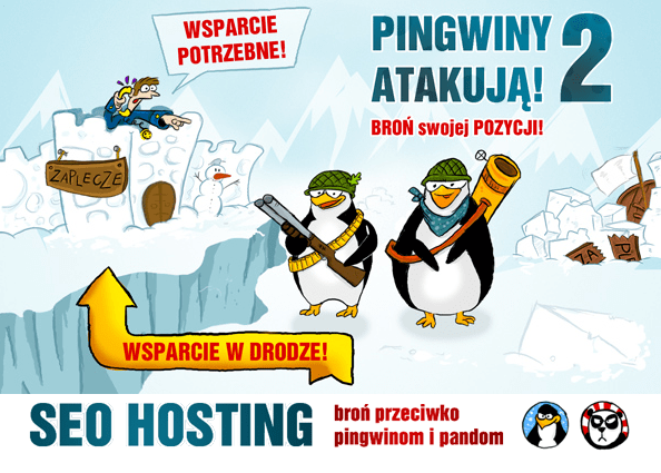 SEO hosting - broń przeciwko pingwinom i pandom