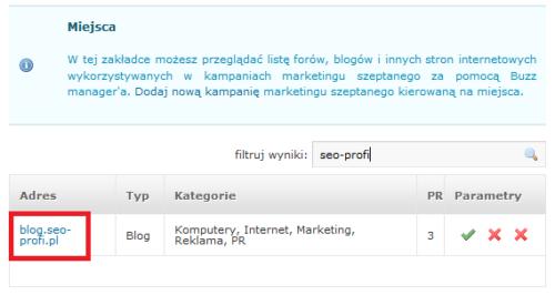 blog.seo-profi.pl na Brandle