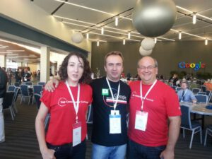 John, Mariya i ja - TC Summit 2013