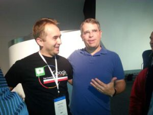 Matt Cutts Sebastian Misniakiewicz - TC Summit 2013