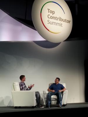 Michael Wyszomierski and Matt Cutts - TC Summit 2013