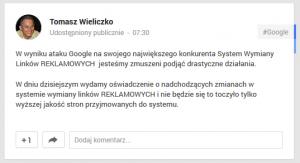 Weblink - zostaliśmy zaatakowani przez Google