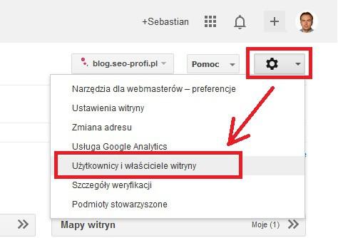 Weryfikacja włąściciela domeny w Narzędziach Google dla Webmasterów