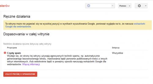 Zbanowana domena w eweblinku