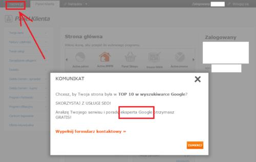 Nazwa.pl a ekspert Google?