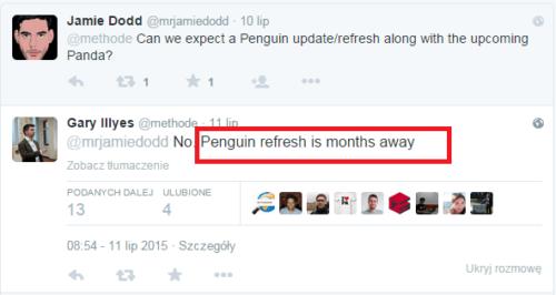 Update Pingwina dopiero za kilka miesięcy