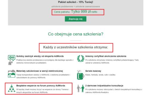 Remnet - szkolenia Adwords a Forum Google Adwords Trenera Google Tomasza Ciepłucha