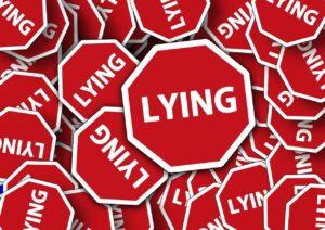 kłamstwo, oszustwo
